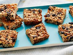 Granola Bars recipe from Alton Brown via Food Network