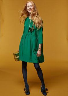 Patron de couture gratuit : la robe facile à coudre Plus