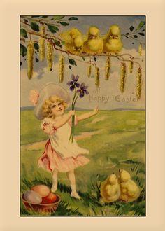 Vintage Easter Cards | Yesteryears › Portfolio › Vintage Happy Easter Greetings