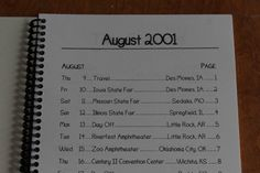 Bob Dylan / TOUR ITINERARY / August 2001 USA Tour | eBay