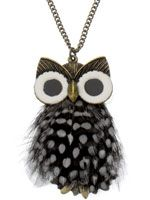 Cool owl pendant!