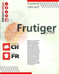 frutiger poster - Google 검색