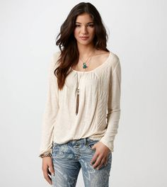 AE Embroidered T | American Eagle Outfitters