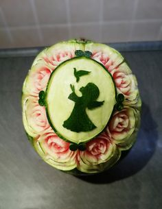 watermelon carving birthday inspiration