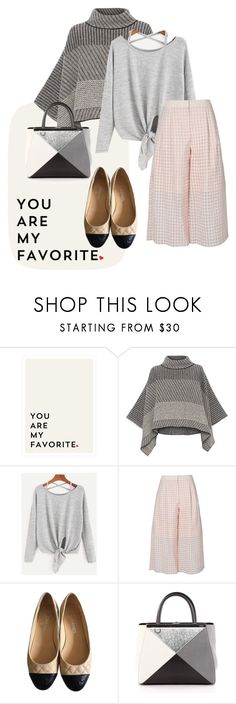 """pumpd"" by masayuki4499 ❤ liked on Polyvore featuring Piazza Sempione, TIBI, Chanel and Fendi"