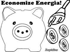 Desenhos Colorir Como Economizar Energia http://rapidino.blogspot.com.br/2015/07/desenhos-colorir-como-economizar-energia.html Por meio dos desenhos para imprimir e colorir, saiba como economizar energia elétrica, de modo fácil e criativo, pois o que está em jogo é o nosso rico dinheirinho!