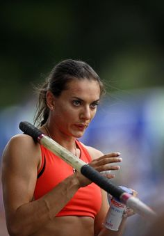Yelena Isinbayeva, world's greatest Pole Vaulter