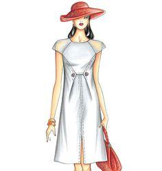 F3366 | Marfy Dress | New Designs | Butterick Patterns