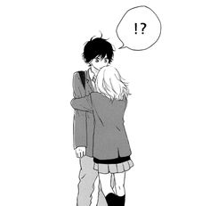 kou and futaba # AO Haru Ride Best Shoujo Manga, Manga Anime, Art Anime, Romantic Anime Couples, Romantic Manga, Cute Anime Couples, Futaba Y Kou, Futaba Yoshioka, Manga Couple