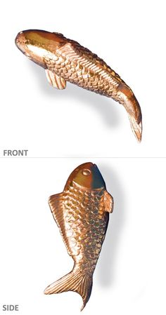 Gold Leaf Design Group Patented Indoor Gold Koi Fish Wall Play * You can find out more details at the link of the image. (This is an affiliate link) #WallSculptures