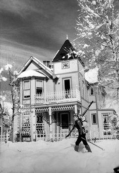 Jan. 10, 1988: Hopkins Avenue in Aspen, Colo. | NYTimes.com