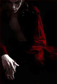 vampire in shadows