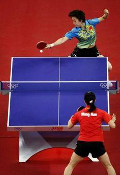 ~Zhang Yining~ ~Wang Nan~ ~Beijing 2008~ ~Table Tennis~
