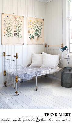 Botanical Prints #bedroom #interior_design #interior #botanicals