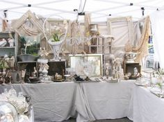 Sacramento Antique Faire - also known as the Under the Freeway Antique faire by the locals