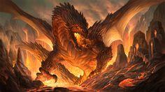 Fire Dragon Wallpaper - wallpaper.