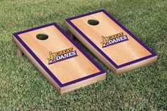Hard Court w/ Border Albany Great Danes Cornhole Game Set
