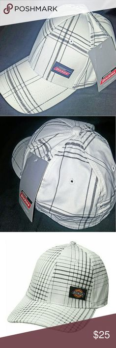 Men's Dickies Structured Flex Fit Hat (Plaid) For Sale By : EaZy Ebay And Amazon Sales  Features :   - 98% Cotton, 2% Spandex  - Imported  - Hand Wash  - Dickies woven label  - Flex closure   Product Information :   One Size ( White Plaid )   Product Dimensions	- 9 x 8.1 x 4.7 inches  Item Weight	- 3.2 ounces  Shipping Weight	- 3.2 ounces  Department	- Mens  Manufacturer - Bioworld Men's Accessories  ASIN - B01DOK6IAS  Origin - China  Manufacturer Reference - BK0IYRDIC00PP00 Dickies…