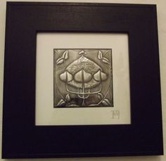 3 Hearts Pewter Repousse Picture £45.00