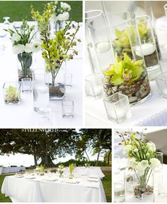 Wedding inspired by Hawaii's white sand beaches, beautiful blue ocean and lush green gardens