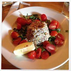 Tri Color Quinoa Salad @ Posto Pizza