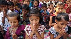 """Our new 30-day guide will lead you in prayer for the children, families and churches who lost Compassion's support when we were forced to end our program in India last month. You can be intentional about your prayers with an """"I Prayed for This"""" button, which also shows you how many people have said each prayer.  #prayer"""