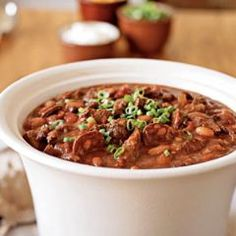 Recipe Bean and Beef Chilli Puerto Rico