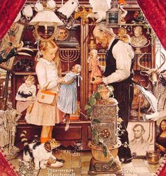 http://rosebiar.tumblr.com/post/2449466830/welovepaintings-norman-rockwell-1894-1978