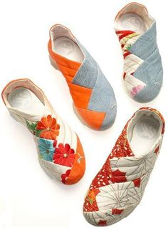 PUMA Yutori Kimono PUMA Yutori Kimono Inspired by the traditional style of the Japanese Geisha and are made from real kimono dress fabric found in vintage shops throughout Japan. The post PUMA Yutori Kimono appeared first on Do It Yourself Fashion. puma y Diy Sac, Shoe Boots, Shoe Bag, Shoe Pattern, How To Make Shoes, Me Too Shoes, Footwear, Sewing, Heels