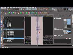 Maya Rigging - How To Make a Really Flexible Ribbon Rig 3/3 - YouTube