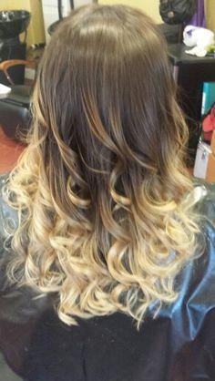 Ombre hair! .