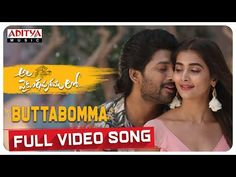 The song Butta Bomma Song Lyrics from the movie Ala Vaikunthapurramuloo with lyrical video, sung by Armaan Malik. New Movie Song, New Dj Song, Movie Songs, Tamil Video Songs, Tamil Songs Lyrics, Song Lyrics, Audio Songs, Music Video Song, Album Songs