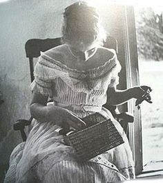 A young Tasha Tudor. Of all the books I have, I have never seen this image.