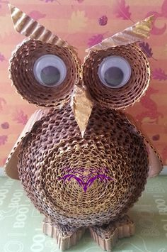 PaperMagic by Katty: Card Board Owl Tutorial