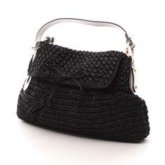 Verspielte Handtasche von Fendi in Schwarz - aus Textil