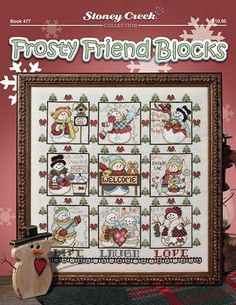 Book 477 Frosty Friend Blocks – Stoney Creek Online Store