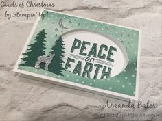 Carols of Christmas Simple Notecard featuring Delightful Daisy papers by Amanda Bates at The Craft Spa in the UK. Independent Stampin Up! UK Demonstrator, Blogger and Tutorial Publisher with Online Shop 24/7