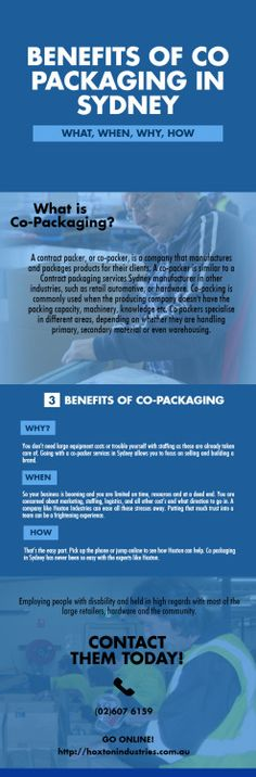 BENEFITS OF CO PACKAGING IN SYDNEY #jobs_for_people_with_disabilities #Contract_Packaging   #Co_packer_services_in_Sydney