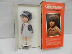 """""""Little Miss Marker"""" Sara Simpson Doll ~1980 Ideal Toy Corporation ~Mint, Boxed in Dolls & Bears, Dolls, Clothing & Accessories, Vintage Dolls 
