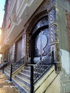 Door Gate Design, Gates, Cnc, Stairs, Doors, Painting, Home Decor, Stairway, Decoration Home