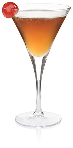 Classic Manhattan: 1½ oz. bourbon, ¾ oz. sweet vermouth and 1 dash bitters.  Mix ingredients in a shaker with ice. Strain into a martini glass, garnish with maraschino cherry and serve. Elijah Craig Bourbon, Fun Drinks, Alcoholic Drinks, Bardstown Kentucky, Wine Recipes, Cooking Recipes, Fall Cocktails, Brand Promotion, Good Spirits