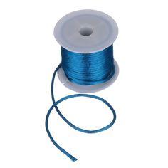 Korean 4M x 2MM Colored Satin Nylon Rope for Jewelry DIY
