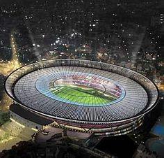"""Projeto da cobertura do Estádio """"Cícero Pompeu de Toledo"""", o Morumbi, estádio particular do São Paulo Futebol Clube."""