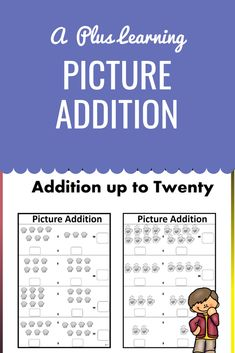 This pack contains 12 worksheets.Each worksheet has pictures picture problems, where students can write the problem below.All problems are up to All worksheets are black and white and no prep.Check out our other Math resources below:Math resources. School Resources, Classroom Resources, Math Resources, Math Activities, Classroom Organization, Classroom Management, School Stuff, Back To School, Math Made Easy