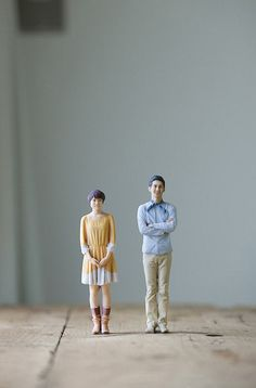 Miniatuurpopjes van jezelf in 3d-fotohokje. Wel erg duur maar zo cool!