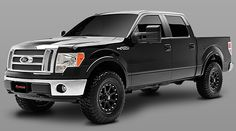 2009 - 2013 Ford F150 4WD - 4-in. Lift