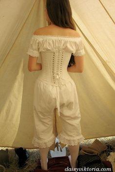 Vintage undergarments, Civil War era