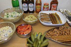 Homeveganer: Einfaches Silvesterbuffet ... guten Rutsch ins neu...