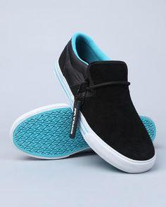 Supra - Cuban Black Suede/Nylon Sneakers
