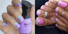 Awesome Lavender nails!